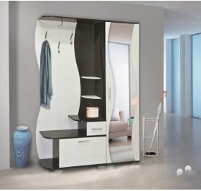 Шкаф комбинированный Визит-М10 + Шкаф для одежды Визит-М07
