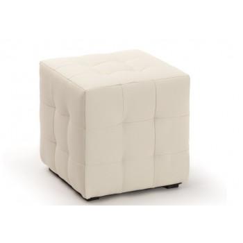 Пуфик Кубо белый