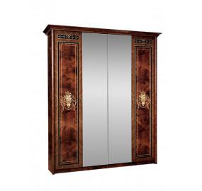 Шкаф 4-х ств. с зеркалами Карина-3