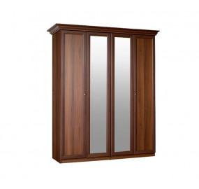 Шкаф 4-х ств. с зеркалами Европа-7
