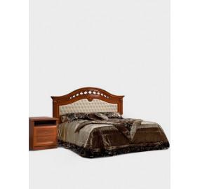 Кровать с мягкой спинкой Европа-7  (без ортопедического основания)