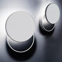 Настенный светодиодный светильник Italline UFO white/black
