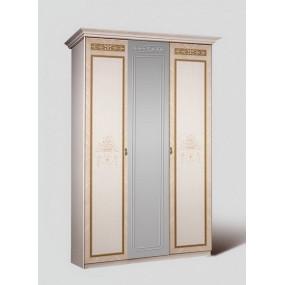 Карина-3 Шкаф 3-х ств. для платья и белья