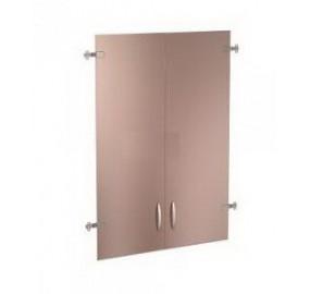63.38 Альфа 63 Двери стеклянные 3 секции