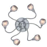 Потолочная люстра Ideal Lux Tender PL6 Trasparente