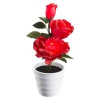 Настольная лампа декоративная -quot-Роза тройная-quot- Globo Orphelia 28026