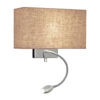 Настенный светильник Ideal Lux Hotel AP2 Canvas