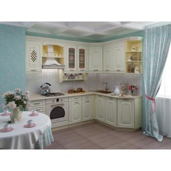 Глория_3 Кухонный гарнитур угловой 18 (ширина 240x170 см)