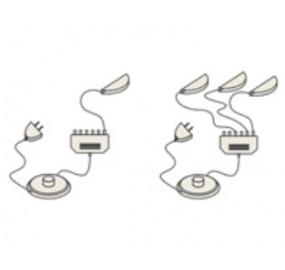 Комплект светильников для шкаф-витрины Мокко 33.05