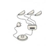 33.04 Мокко Комплект светильников для шкаф-витрины