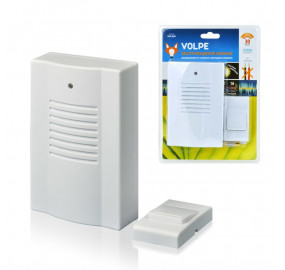 Звонок беспроводной (11014) Volpe UDB-Q021 W-R1T1-16S-30M-WH