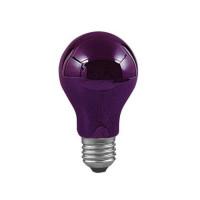 Лампа накаливания диммируемая Е27 75W груша ультрафиолет 59070