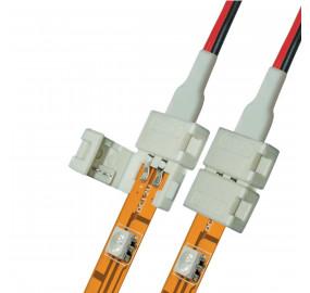 Коннектор для светодиодных лент (06609) Uniel UCX-SD2/B20-NNN White 020