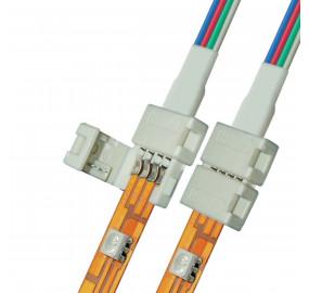 Коннектор для светодиодных лент (06610) Uniel UCX-SD4/B20-RGB White 020