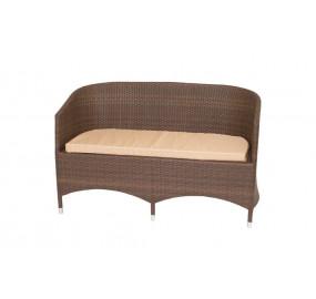 Диван 2-местный с подушкой GARDA-1022 R
