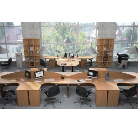 Монолит Мебель в офис (вариант 1)