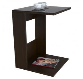 Журнальный столик Beauty Style 3(венге/черное)