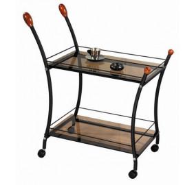 Сервировочный стол Поло (Черный)