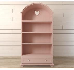 """Стеллаж """"Adelina"""" в розовом цвете"""