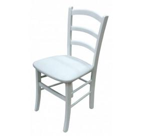 Венеция Стул с мягким сиденьем (белый)