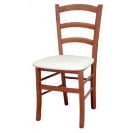 Венеция Стул с мягким сиденьем (орех)