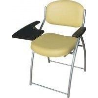 Складной стул со столиком М5-021 (столик белый клен - отечественная иск. кожа)