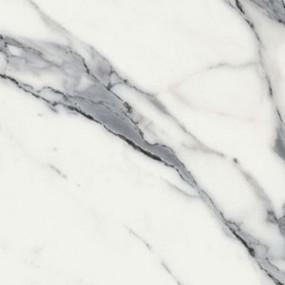 Стеновая панель для кухни КЕДР (3-я категория) - Цвет: Мрамор белый ГЛЯНЕЦ 727/1