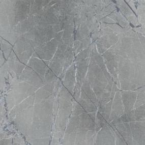Стеновая панель для кухни КЕДР (3-я категория) - Цвет: Мрамор марквина синий ГЛЯНЕЦ 734/1