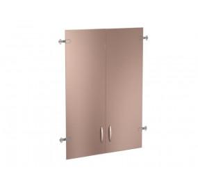 61.38 Альфа 61 Двери стекло (для шкафа 61.40) на 3 секции