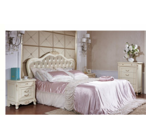 Двуспальная Кровать без изножья Милано 8801 A