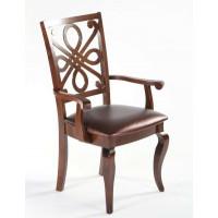 Кресло 7084 A Cappuccino темный орех