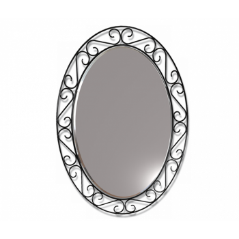 Зеркало Sheffilton Грация 629, черный