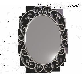 Зеркало Sheffilton Грация 630, золотой антик