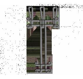 Вешалка Sheffilton Грация 780-2 черный