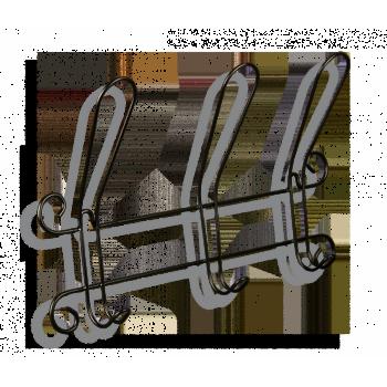 Вешалка Sheffilton Грация 770-2 черный