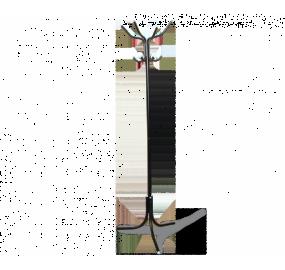Вешалка Sheffilton 14232D черный/серый