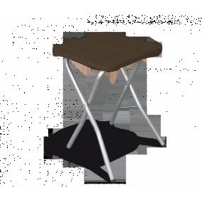 Табурет складной Sheffilton SHT-S6 хром/венге
