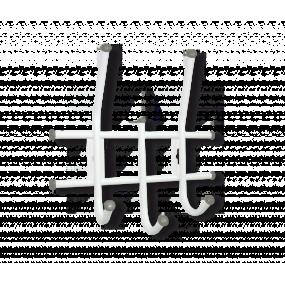 Вешалка Sheffilton Стандарт 2/3 белый