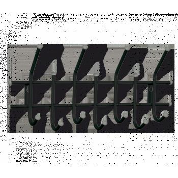 Вешалка Sheffilton Стандарт 2/7 черный