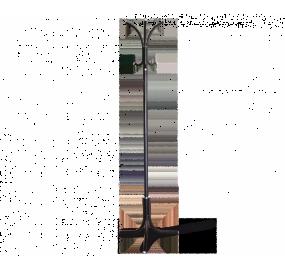 Вешалка Sheffilton SHT-CR330 Р, черный/серый