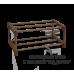 Полка для обуви Sheffilton SHT-SR3-P коричневый/венге матовый