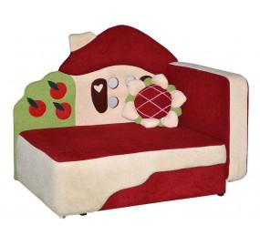 Детский диван Теремок красный