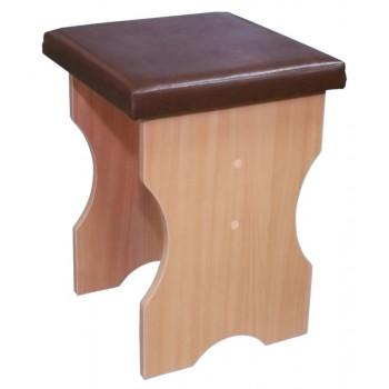 Табурет с мягким сиденьем