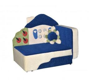 Детский диван Теремок синий