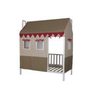 """Кровать из натурального дерева детская """"Домовёнок-2"""""""
