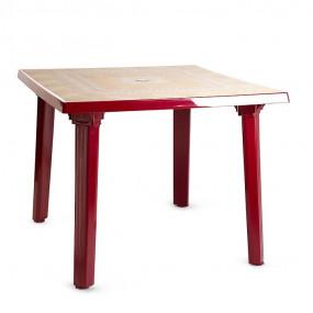 Стол квадратный с рисунком 90*90