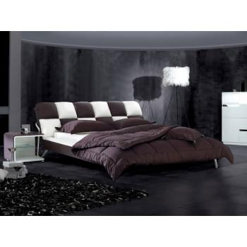 Кожаная кровать Татами 1028