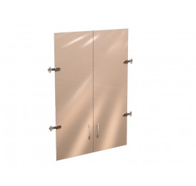 41.38 Рубин 41 Двери стекло (для шкафа 41.31) на 3 секции