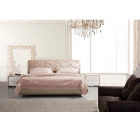 Кожаная кровать Татами 1100